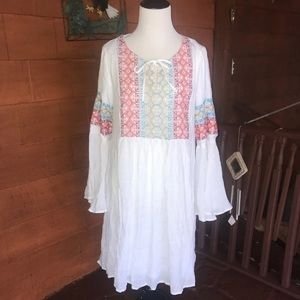 Beautiful Naturally White Summer Dress